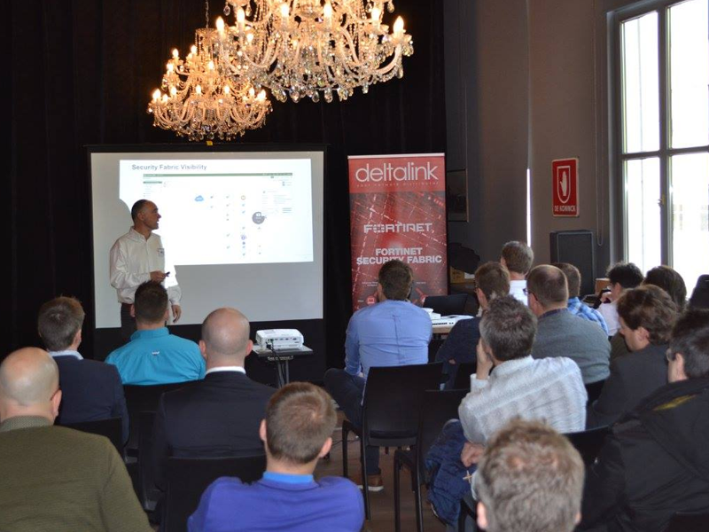 Relive our FortiRoadshow in Antwerp
