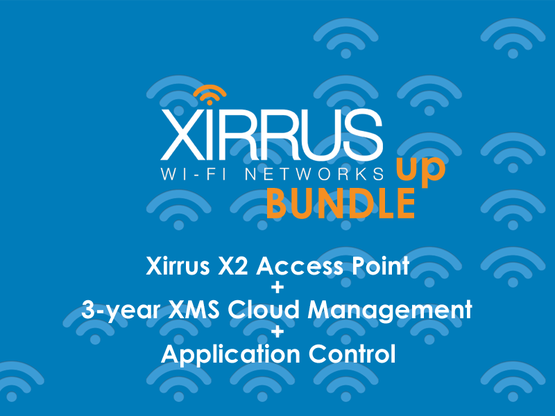 Summer Deal #3: Bundle Up with Xirrus (Valid until 31/8)