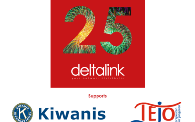 25 Years Deltalink supports Kiwanis: Serving the Children of the World