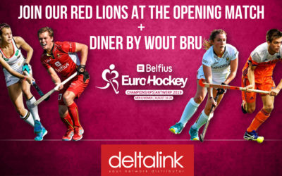 Win a ticket to the Eurohockey 2019 opening match (Belgium – Spain) with diner by Wout Bru