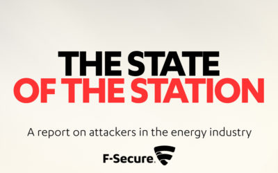 """F-Secure white paper """"The State of the station: A report on attackers in the energy industry"""""""