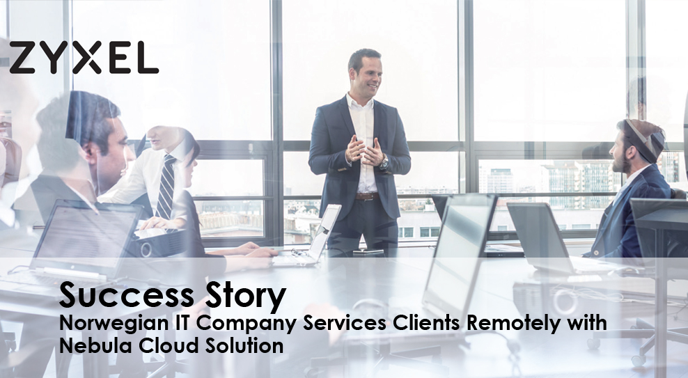IT VAR services clients remotely with Nebula cloud from Zyxel
