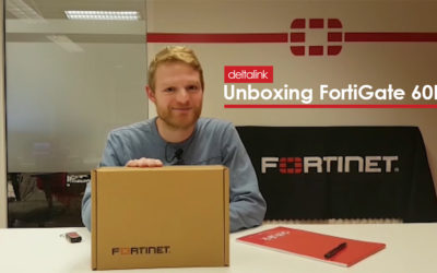 Unboxing the new FortiGate 60F