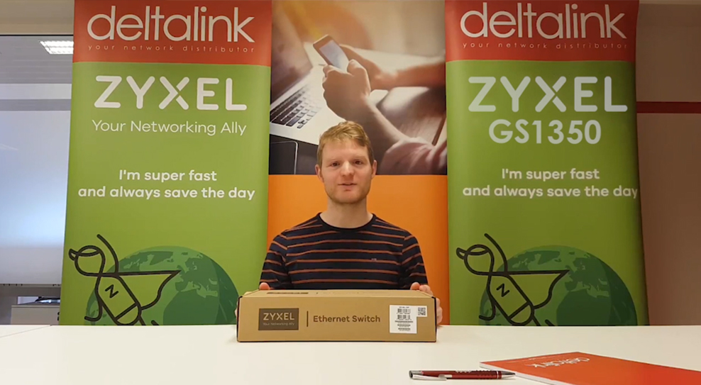 Unboxing Zyxel GS1350 smart managed switch