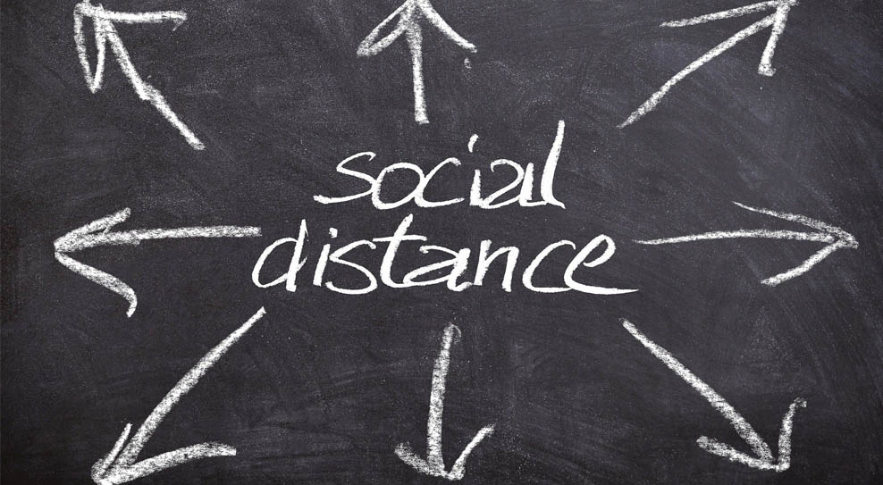 How IP surveillance manages social distancing