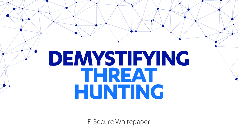 "F-Secure Countercept whitepaper ""Demystifying Threat Hunting"""
