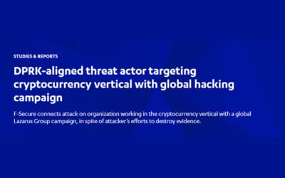 DPRK-aligned threat actor targeting cryptocurrency vertical with global hacking campaign